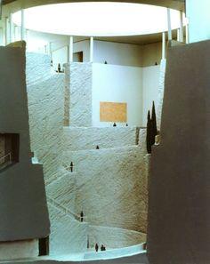 Guggenheim Museum, Salzburg, Österreich, 1990. . Image © Atelier Hans Hollein / Sina Baniahmad