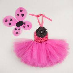 Extra Fluffy Tutu Dress with Wings