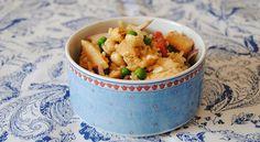 Ensalada de pollo, arroz y salsa de soja - http://www.bezzia.com/ensalada-pollo-arroz-salsa-soja/