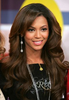 Dark Brown Hair With Caramel Brown Highlights. I like this for my sister...