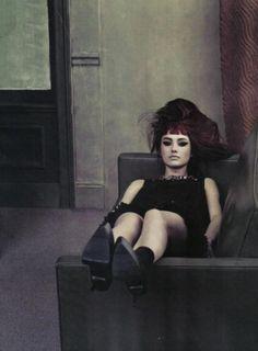 Karmen Pedaru in Vogue Italia by Craig McDean