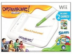 Coupon Diva Queen: Drawsome Tablet For Wii $7.99!!