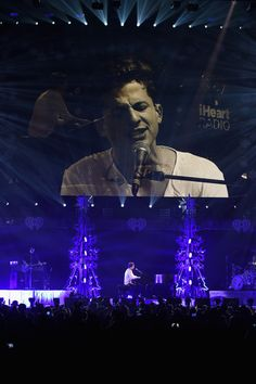 Charlie Puth performs onstage during 103.5 KISS FM's Jingle Ball 2015