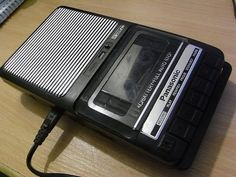 The only way we had to record songs from the radio