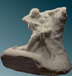 Adam and Eve expelled from Paradise - Auguste Rodin - WikiArt.org