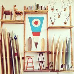 School house board setup by Danny Hess Board #surfboards #surfing #design