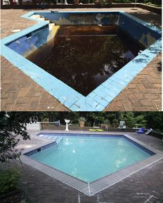 Anthony & Sylvan brought new life to this unusable pool! Learn more about all the pool renovation services we offer to help restore the pride in your pool.