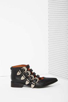 Kobe Husk De Fete Leather Ankle Boots
