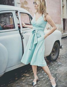 Riviera Kleid WW078 Kleidung bei Boden
