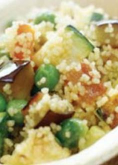 Salada morna de couscous