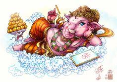 Lord Ganesh by In-Sine.deviantart.com on @DeviantArt