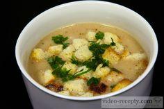 Recept Luxusná hrachová polievka - hrachová polievka - návrh na servírovanie Food 52, Cheeseburger Chowder, Thai Red Curry, Catering, Food And Drink, Yummy Food, Cooking, Ethnic Recipes, Soups