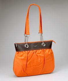 Orange Brick-a-Brack Tote by HADAKI 6490b185e2d86