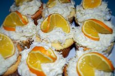 Filled Meyer lemon cupcakes with coconut frosting. The picture doesn't do these justice, they were SO GOOD!