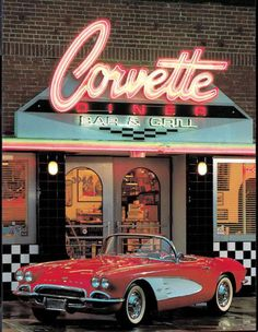 The original Corvette Diner opened in Hillcrest in 1987.