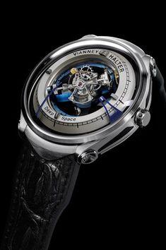 """Luxury watchmaker Vianney Halter creates a breathtaking tourbillon watch based on """"Star Trek: Deep Space Amazing Watches, Beautiful Watches, Cool Watches, Stylish Watches, Fine Watches, Wrist Watches, Men's Watches, Grand Prix, Devon"""