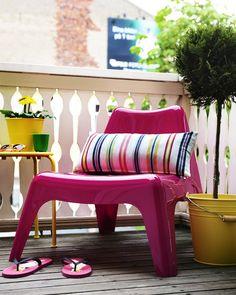 Alle Jahre Wieder Freuen Wir Uns über Die Quietschbunten Gartenmöbel Von  Ikea   Und Können Unseren