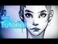 Tutorial: Drawing a female Head