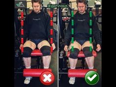 Сorrect exercises: How to Legs extension | Exercise Videos & Guides