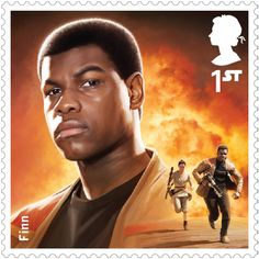 Finn - The Star Wars™ Stamp Collection