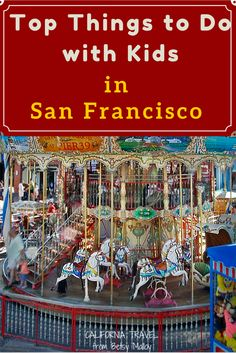 Things for Families to Do in San Francisco: Use these ideas to plan a vacation the whole family can enjoy.