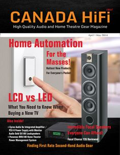CANADA HiFi April/May 2014 Issue is Now Available Online and Your Tablet!