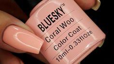 Nails Revolutions by Alicja Fik: Bluesky - Coral Woo