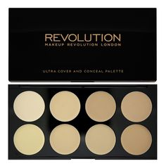 Ultra Cover and Conceal Palette-Light - Face Palette - PALETTES