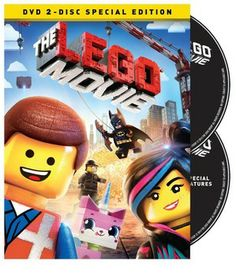 Everything is awesome when 'The LEGO Movie' arrives on DVD, Blu-ray and Blu-ray 3D on Tuesday, June 17, 2014. Cast: Chris Pratt, Will Ferrell, Elizabeth Banks, Will Arnett, Nick Offerman, Alison Brie, Charlie Day, Liam Neeson, Morgan Freeman, Channing Tatum, Jonah Hill, Cobie Smulders, Shaquille O'Neal.