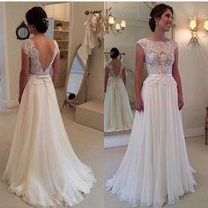 Resultado de imagen para vestido de novia romantico 2016