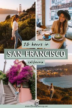 How to Spend 24 Hours in San Francisco Usa Travel Guide, Travel Usa, Travel Guides, San Francisco Travel Guide, San Francisco California, California Travel, Southern California, Us National Parks, Short Trip