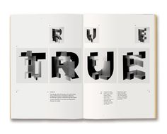 Geological Typography - Yeah that's right I said GEOLOGICAL by Eric Karnes
