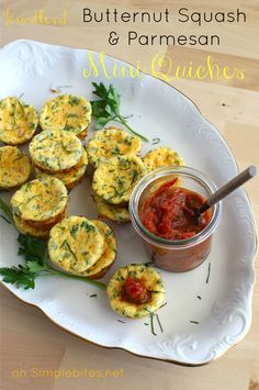 Crustless Mini quiche recipe-it's for Butternut squash & Parm cheese--but could be anything.