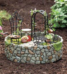 Miniature Fairy Garden Ideas Photograph 27601 | mini-garden-