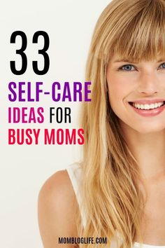 33 awesome self-care tips and ideas for busy moms who need to take more time for themselves. These self-care tips will help you in mind, body and spirit. Busy moms need to make time for self-care. Most of these ideas can be done in 30 mins or less! After Baby, Mom Advice, Life Advice, Life Tips, Pregnant Mom, First Time Moms, Baby Hacks, Baby Tips, Mom Hacks