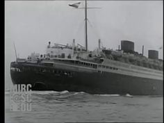 Maiden Voyage of SS Europa (1930) - YouTube