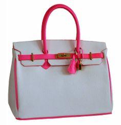 b224f63d1b2 Birkin Bag Neon Pink Neon Bag