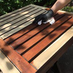 Refinishing Ikea Wooden Outdoor Patio Furniture
