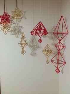 ヒンメリ Europe Style, Ramadan Decorations, Europe Fashion, Handmade Ornaments, Lithuania, Straws, Stick It Out, Diy And Crafts, Decor Ideas