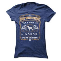 IRISH WATER SPANIEL NO 1 BREED CANINE PERFECTION T Shirts, Hoodies. Get it now ==► https://www.sunfrog.com/Pets/IRISH-WATER-SPANIEL-NO-1-BREED-CANINE-PERFECTION-T-SHIRTS-Ladies.html?41382