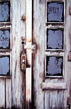 Burhan Dogancay (Turkish painter) - doors series