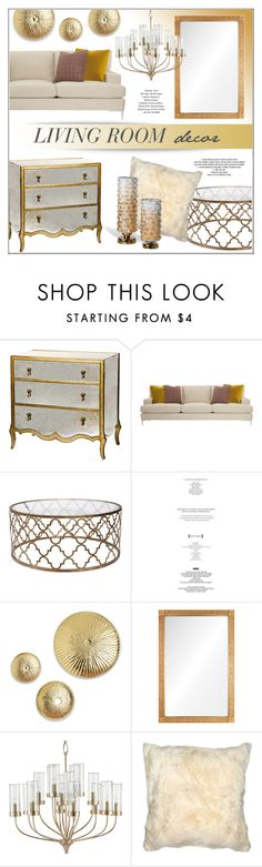 """""""Living Room Decor"""" by kathykuohome ❤ liked on Polyvore featuring interior, interiors, interior design, home, home decor, interior decorating, living room, livingroom, Home and homeset"""