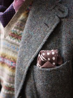 A combination of textures, colours, and patterns that simply work.