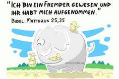 """""""Denn ich bin #hungrig #gewesen und ihr habt mir zu #essen #gegeben. Ich bin #durstig gewesen und ihr habt mir zu #trinken gegeben. Ich bin ein #Fremder gewesen und ihr habt mich #aufgenommen."""" #Matthäus 25:35 #glaubensimpulse"""