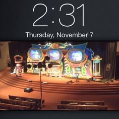 all done tearing down at 2:31am - here's a little timelapse for those who like to watch us work. :-) goodnight! - Erie, PA  - November 3-6 2013  #kidmin