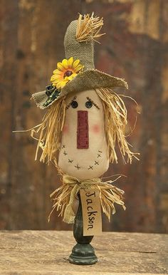 Cute Scarecrow Pin