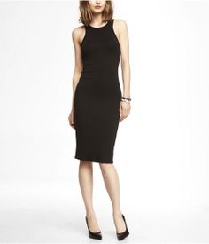 Express Knit Midi Sheath Dress on shopstyle.com