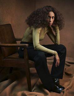 Photography: Mikael Jansson Styled by: Karl Templer Hair: Chuck Amos Makeup: Mark Carrasquillo Model:Solange Knowles
