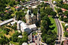 #Klasztor w Jarosławiu z lotu ptaka. #dominikanie #jarosław