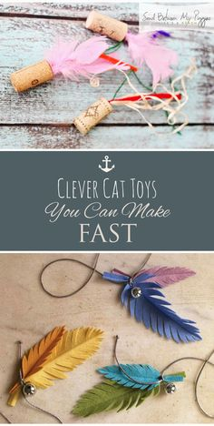 Clever cat toy that you can make FAST - Diy Cat Toys - . - Clever cat toy that you can make QUICKLY – Diy Cat Toys – - Diy Cat Toys, Homemade Cat Toys, Diy Animal Toys, Cool Cat Toys, Toy Diy, Animal Projects, Diy Projects, Diy Jouet Pour Chat, Cat Anime